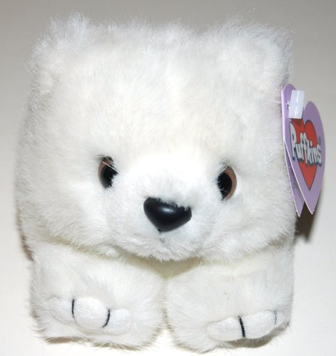 1 X Puffkins Collection Crystal Bear - 1