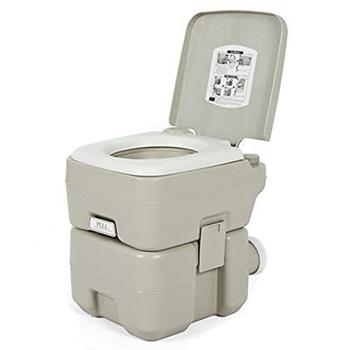 Portable-Toilet-5-Gallon-Dual-Spray-Jets-Travel-Outdoor-Camping-Hiking-Toilet (Toilet Seat For Trailer Hitch compare prices)