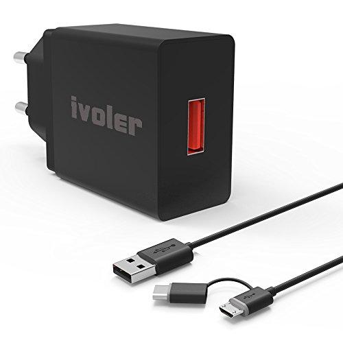 ivoler-quick-charge-30-type-c-18w-caricabatteria-usb-da-muro-con-cavo-2-in-1-tipo-c-e-micro-usb-cavo