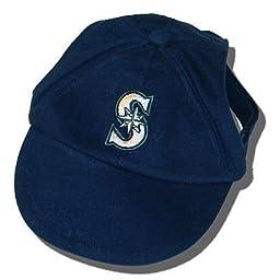 Sporty K9 MLB Seattle Mariners Dog Cap, Large