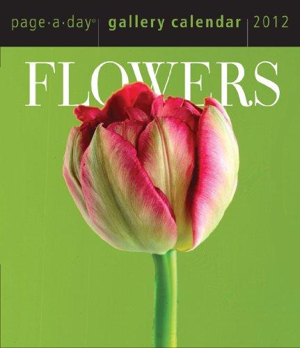 Flowers 2012 Gallery Calendar