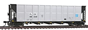 Walthers - Trinity RD-4 Coal Hopper 6-Packs Assembled Flex Leasing - HO
