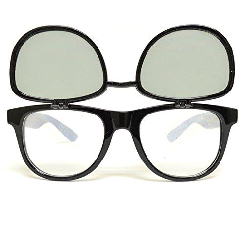 GloFX Matrix Diffraction Glasses - Black Tinted