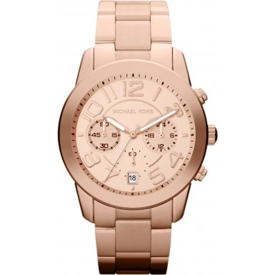 Michael Kors Mercer Chronograph Rose Gold-Tone