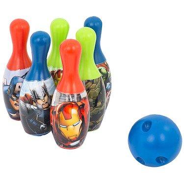 Marvel Avengers - Set de Bowling - 6 Quilles 19 cm + Mini Boule