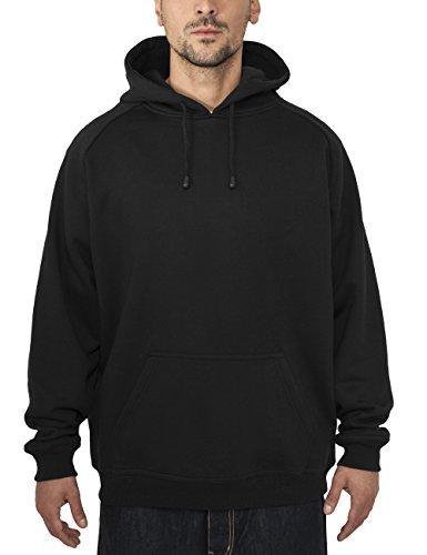 Urban Classics Pullover Blank Hoody Felpa da Uomo, Nero (Black), X-Large (Taglia Produttore: X-Large)