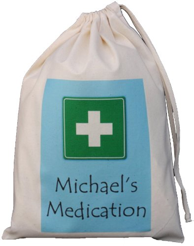 personalised-medication-storage-bag-blue-design-small-natural-cotton-drawstring-bag-supplied-empty