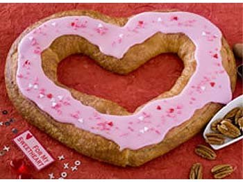 Valentine Pecan Kringle
