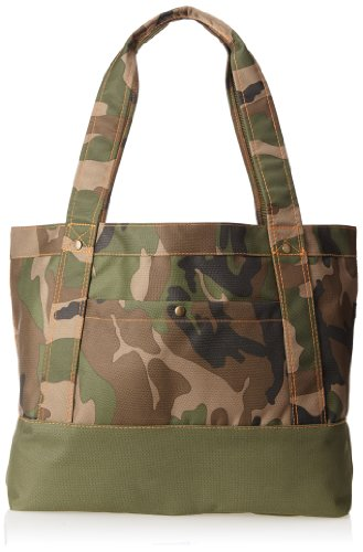 Everest Woodland Camo Tablet Tote Bag, Camouflage, One Size front-1040195