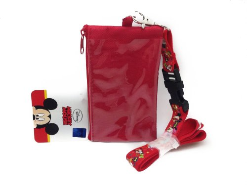 Mickey Mouse Golf With Caddy And 3 Golf Clubs In Net Bag