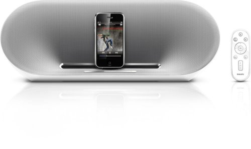 Philips Fidelio Ds8500 Speaker Dock With Remote For Ipod/Iphone (White/Silver) front-598627
