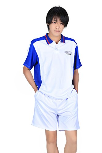 ICEMPs Prince of Tennis Cosplay Seigaku High School Summer Sport Outfit Kid S