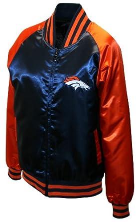 NFL Ladies Denver Broncos Satin Team Spirit Jacket by MTC Marketing, Inc