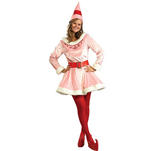 Jovi Elf Deluxe Adult Costume - Standard One-Size (Deluxe Buddy The Elf Costume)