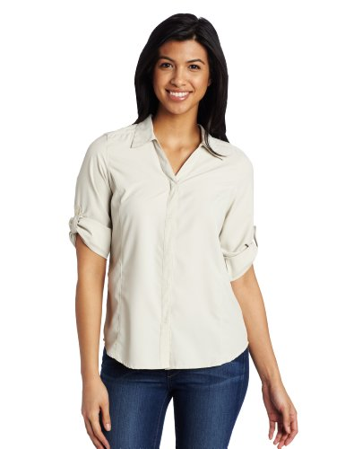 Royal robbins women s light expedition 3 4 sleeve shirt for Royal robbins expedition shirt 3 4 sleeve women s