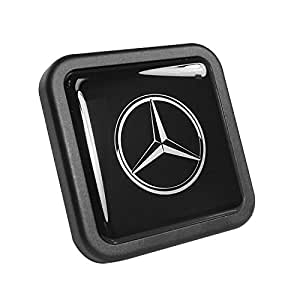 mercedes benz logo tow hitch cover automotive