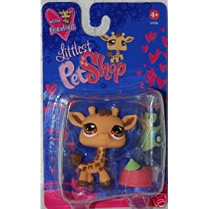 Littlest Pet Shop Exclusive Figure Giraffe [Geoffrey] Valentine's Day Package