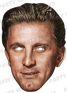 Official Kirk Douglas Celebrity Mask