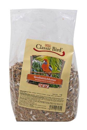 5er Pack Classic Bird Großsittichfutter 1kg