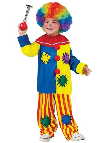 Fun World Costumes Baby Girl's Big Top Clown Toddler Costume