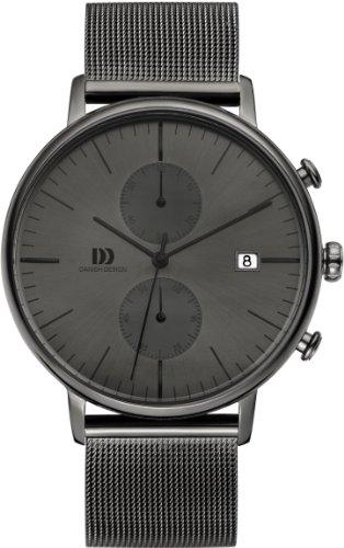 Danish Design IQ64Q975 Dark Gray Stainless Steel Dark Gray Dial Chronograph Men