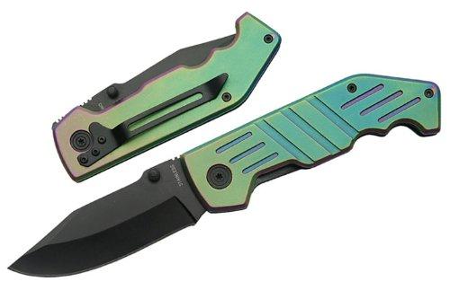 Szco Supplies 211153 Combat Warrior Folding Knife