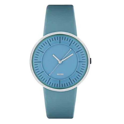Alessi - AL8010 - Montre Homme - Automatique - Analogique - Bracelet Cuir Turquoise