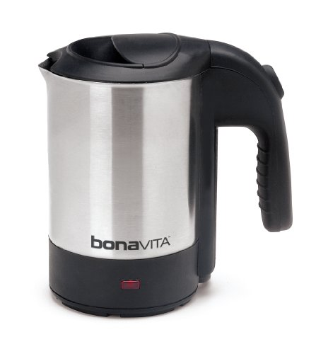Bonavita Bona Voyage 0.5-Liter Electric Travel Kettle (One Cup Hot Water Heater compare prices)