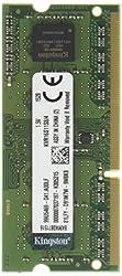 Kingston Value RAM 4GB 1600MHz PC3-12800 DDR3 Non-ECC CL11 SODIMM SR x8 Notebook Memory (KVR16S11S8/4)