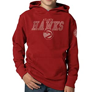 NBA Atlanta Hawks Playball Hoodie Jacket, Rescue Red by