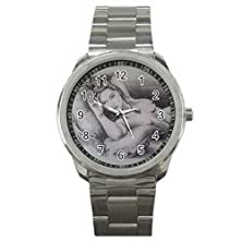 buy Gifts Stainless Steel Xhs215 Titanic Rose Naked Sketch Picture Movie #A Sport Metal Watch