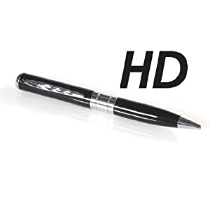 HD SpyCam * Pendrive with integrated camera * Pen silver black * 1280x960 pixel Video * DVR DV * spy * camera * camcorder *