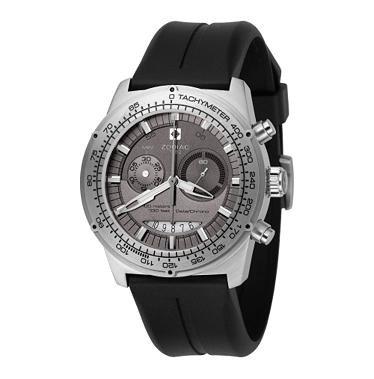 Zodiac Men's ZO4701 Speed Dragon Racer Collection Chronograph Black Rubber Watch
