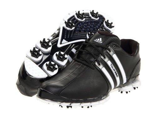 adidas Men's Tour360 ATV Golf Shoe,Black/Black/White,10.5 M US