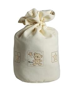 Baby Elegance Star Ted Laundry Bag (Cream)