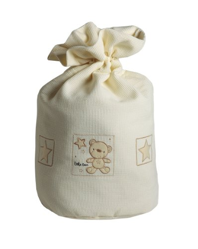 Baby Elegance Star Ted Laundry Bag (Cream) front-888496