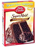 Betty Crocker Super Moist Butter Recipe Chocolate Cake Mix 15.25 oz