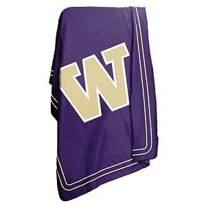 Brand New Washington Huskies NCAA Classic Fleece Blanket by Things for You