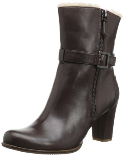Ecco Womens Pretoria Black Old West Boots Brown Braun (ESPRESSO) Size: 41