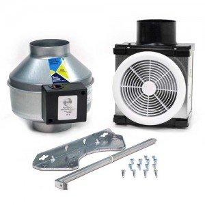 exhaust fan 110 cfm bathroom kit with halogen light for 4 duct. Black Bedroom Furniture Sets. Home Design Ideas