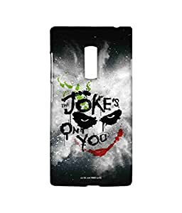 Block Print Company The Jokes On You Phone Cover for Oneplus Two