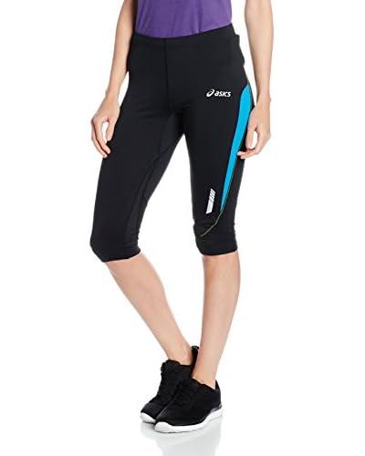 Asics Shorts Knee Tight [Nero/Blu]