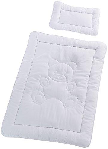 Kindersteppbett Microfaser Betten Set Decke 100 x 135cm und Kissen 40x60cm