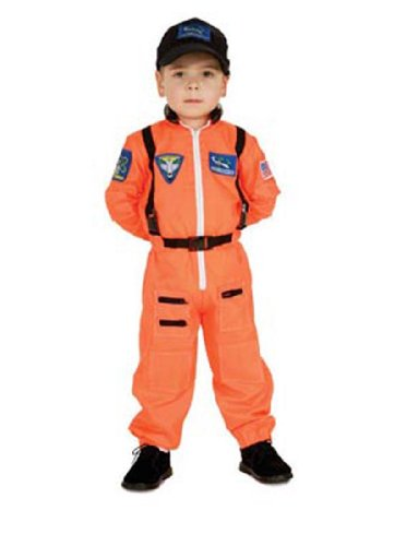 Child Astronaut Jumpsuit Costume
