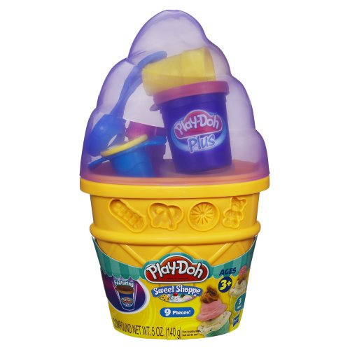 Play-Doh Sweet Shoppe Ice Cream Cone Container Craft Kit 5 oz. ( Colors May Vary ) - 1