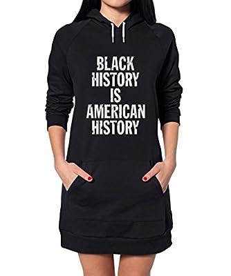 TeeStars - Black History Is American History - Freedom Hoodie Dress