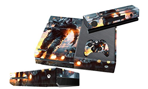 xbox one skins BF4 vinyl decals sticker cover for xbox one console dobe tyx 619s dual usb cooling fan for xbox one s console