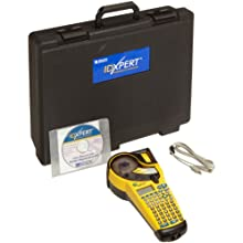 "Brady XPERT-CONT LCD IDXPERT Continuous Only Portable Label Printer, 1.25"" Character Height"