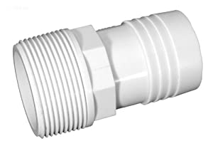 Jacuzzi/Cantar Laser Sand Filters 160L, 190L, 192L, 225L, LR3, LR6 Replacement Parts Pump to Filter Hose Adapter (2/bag) 3110530