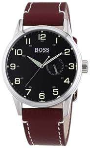 Hugo Boss - 1512723 - Montre Homme - Quartz Analogique - Cadran - Bracelet Cuir Marron
